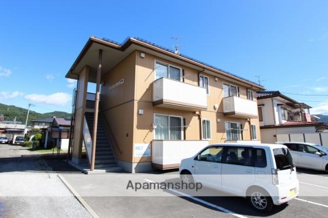 長野県岡谷市、下諏訪駅徒歩22分の築10年 2階建の賃貸アパート