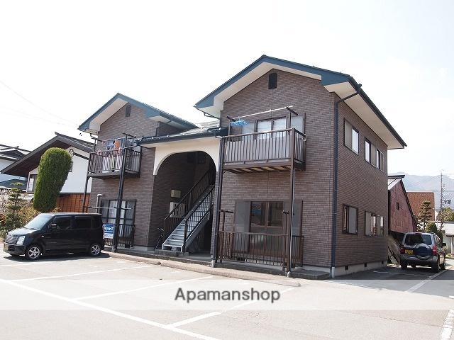 長野県諏訪市、上諏訪駅徒歩57分の築20年 2階建の賃貸アパート