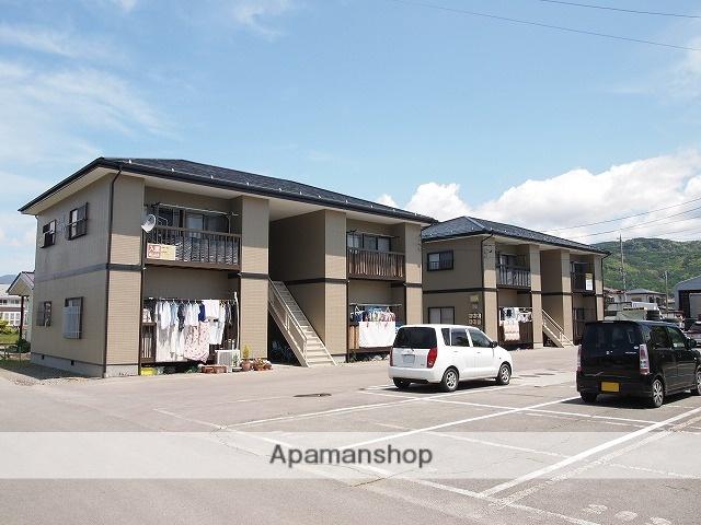 長野県諏訪市、上諏訪駅バス15分下金子農協支所前下車後徒歩4分の築20年 2階建の賃貸アパート