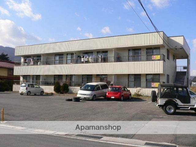 長野県諏訪市、上諏訪駅徒歩35分の築31年 2階建の賃貸アパート