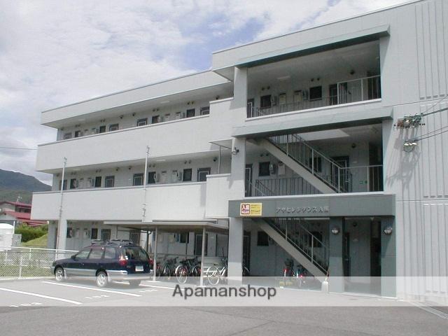 長野県岡谷市、下諏訪駅徒歩47分の築15年 3階建の賃貸マンション