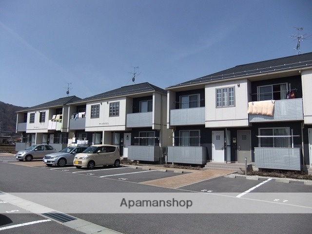 長野県諏訪市、上諏訪駅諏訪バス ㈱バス20分文出下車後徒歩15分の築10年 2階建の賃貸アパート