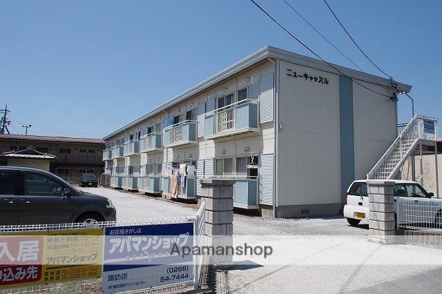長野県諏訪市、上諏訪駅徒歩21分の築30年 2階建の賃貸アパート