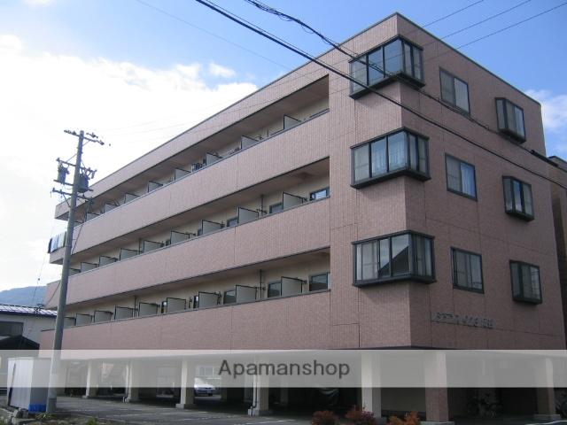 長野県岡谷市、岡谷駅徒歩11分の築21年 4階建の賃貸マンション