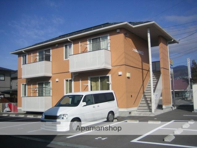 長野県諏訪市、上諏訪駅徒歩14分の築9年 2階建の賃貸アパート