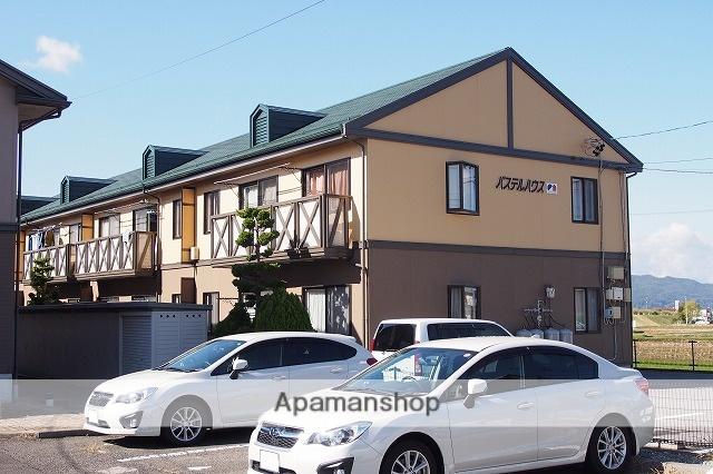 長野県諏訪市、上諏訪駅諏訪バス㈱バス7分細久保下車後徒歩10分の築24年 2階建の賃貸アパート