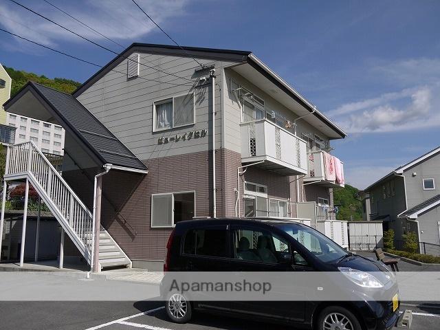 長野県諏訪市、上諏訪駅諏訪バス㈱バス4分中大和下車後徒歩5分の築17年 2階建の賃貸アパート