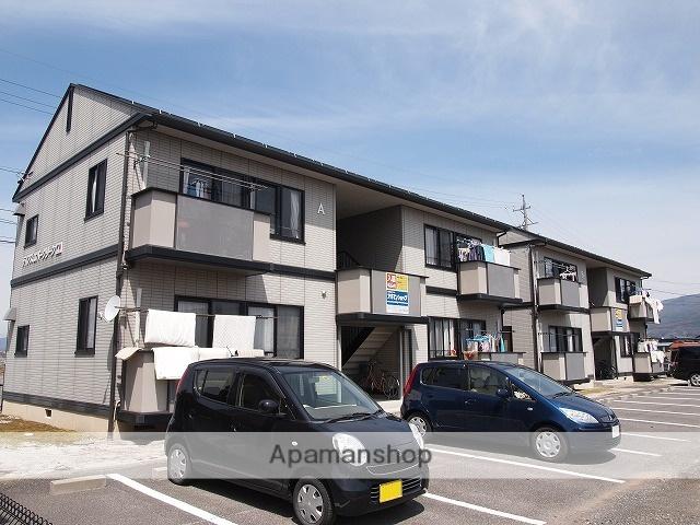長野県諏訪市、上諏訪駅バス17分田辺農協前下車後徒歩5分の築15年 2階建の賃貸アパート