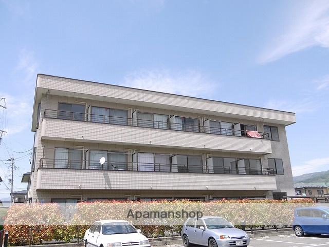 長野県諏訪市、上諏訪駅かりんちゃん外回り線バス45分中金子下下車後徒歩2分の築16年 3階建の賃貸マンション