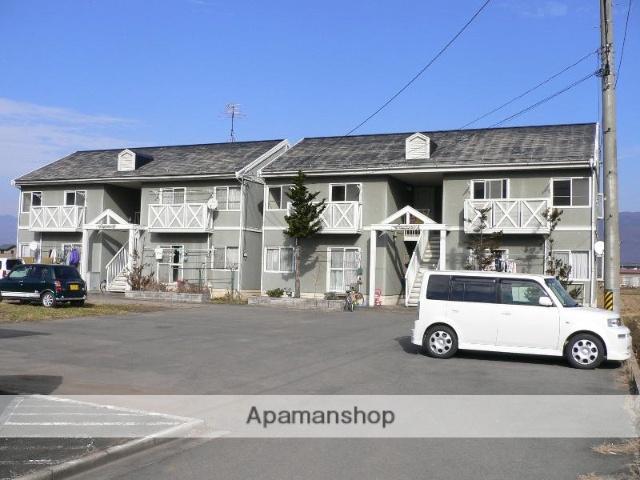 長野県諏訪市、上諏訪駅諏訪バス ㈱バス20分田辺農協前下車後徒歩3分の築28年 2階建の賃貸アパート