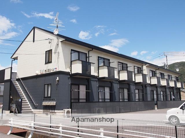 長野県諏訪市、上諏訪駅かりんちゃんバスバス32分ステーションパーク下車後徒歩6分の築17年 2階建の賃貸アパート