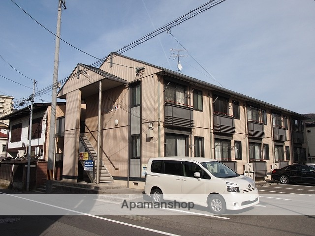 長野県諏訪市、上諏訪駅徒歩8分の築15年 2階建の賃貸アパート