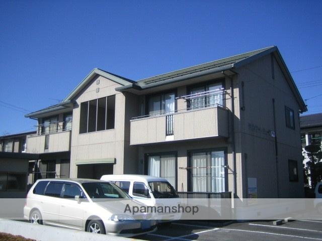 長野県諏訪市、上諏訪駅かりんちゃんバスバス18分下赤沼下車後徒歩4分の築17年 2階建の賃貸アパート