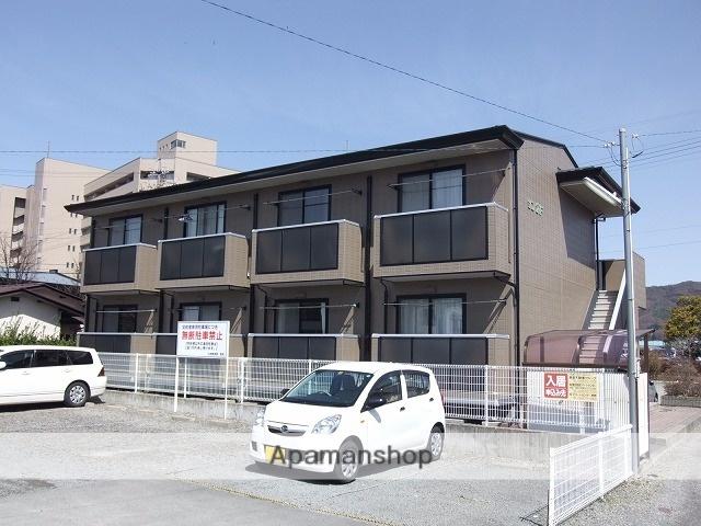 長野県諏訪市、上諏訪駅徒歩15分の築17年 2階建の賃貸アパート