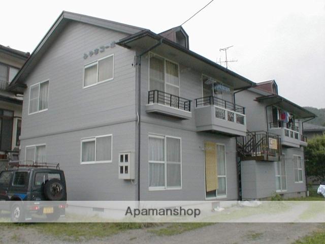長野県岡谷市、岡谷駅バス16分栗の木下車後徒歩4分の築28年 2階建の賃貸アパート