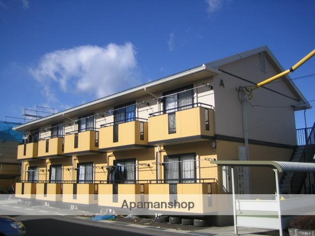 長野県諏訪市、上諏訪駅諏訪バス㈱バス21分飯島下車後徒歩8分の築18年 2階建の賃貸アパート
