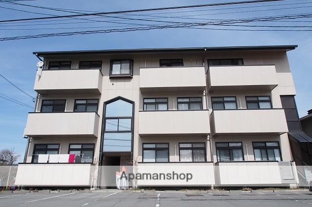 長野県諏訪市、上諏訪駅バス21分小川中下車後徒歩8分の築21年 3階建の賃貸マンション