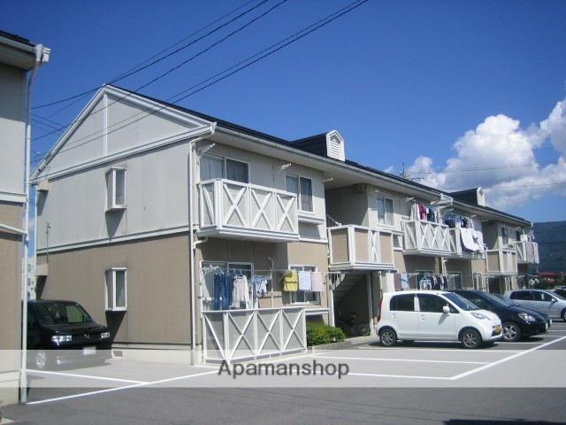長野県諏訪市、上諏訪駅諏訪バス ㈱バス18分文出下車後徒歩5分の築27年 2階建の賃貸アパート