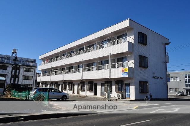 長野県諏訪市、上諏訪駅徒歩16分の築23年 3階建の賃貸アパート