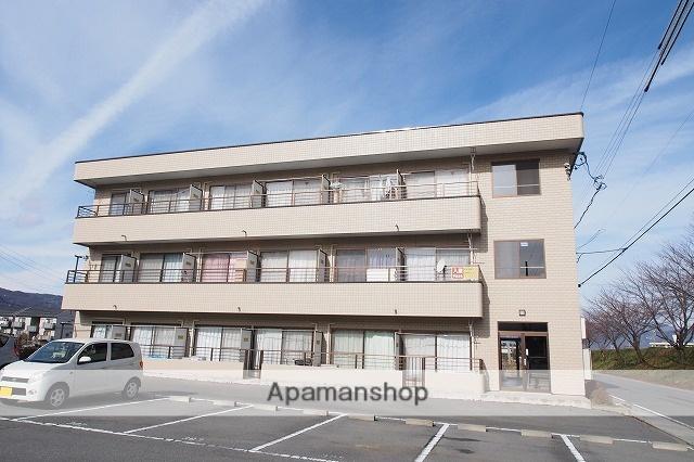 長野県諏訪市、上諏訪駅諏訪バス㈱バス31分上金子公民館前下車後徒歩4分の築17年 3階建の賃貸マンション