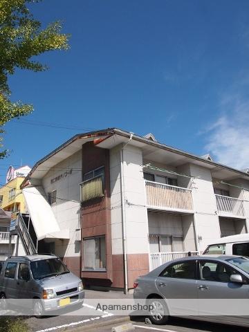 長野県諏訪市、上諏訪駅バス32分諏訪ステーションパーク下車後徒歩6分の築28年 2階建の賃貸アパート