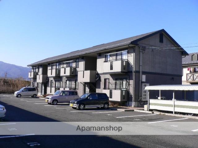 長野県諏訪市、上諏訪駅諏訪バス㈱バス9分白狐入口下車後徒歩10分の築19年 2階建の賃貸アパート