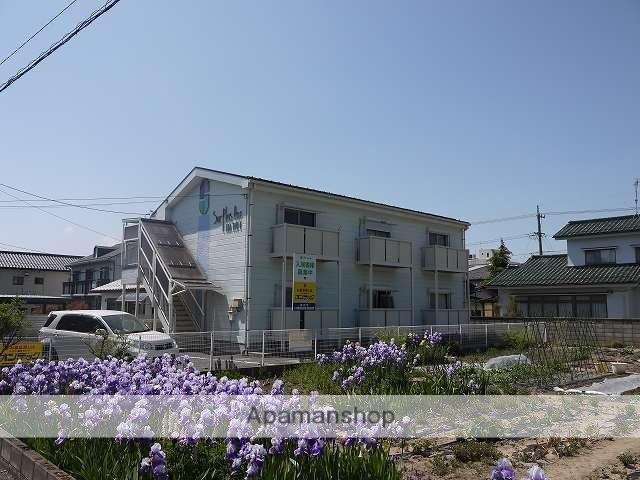 長野県松本市、南松本駅徒歩37分の築22年 2階建の賃貸アパート