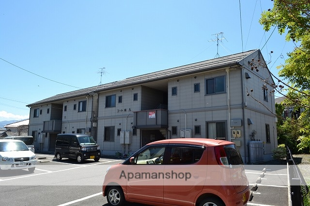 長野県松本市、新村駅徒歩8分の築15年 2階建の賃貸アパート