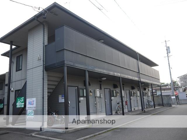 長野県松本市、松本駅徒歩17分の築19年 2階建の賃貸アパート