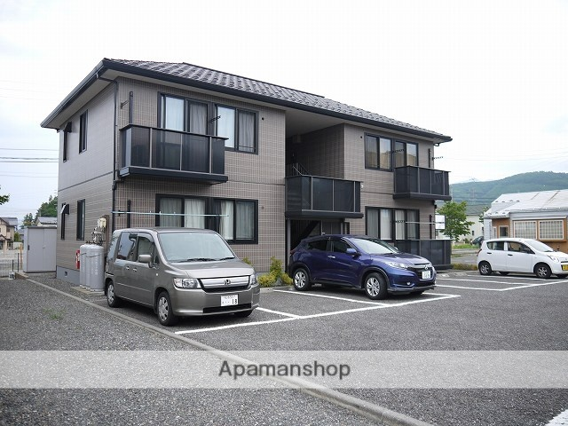 長野県松本市、平田駅徒歩16分の築15年 2階建の賃貸アパート