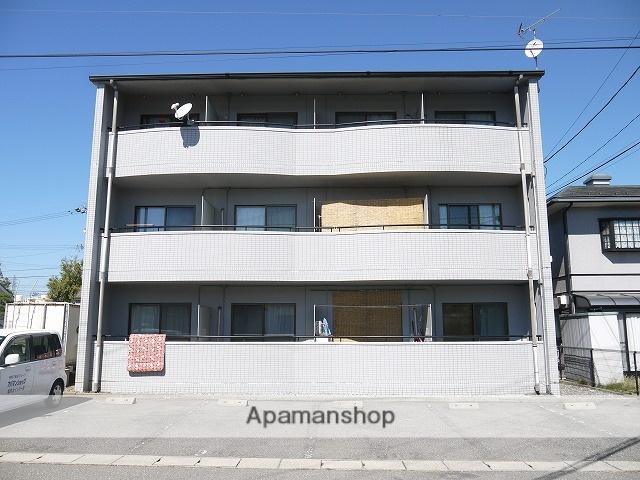 長野県塩尻市、塩尻駅徒歩5分の築20年 3階建の賃貸マンション