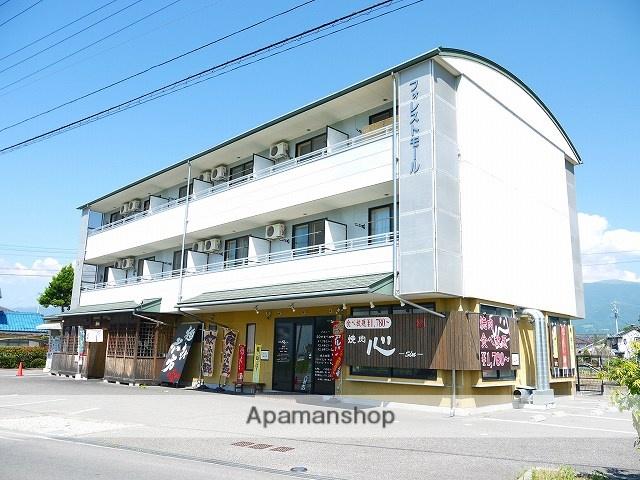 長野県松本市、村井駅徒歩9分の築18年 3階建の賃貸アパート