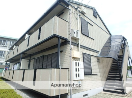 長野県松本市、南松本駅徒歩35分の築19年 2階建の賃貸アパート