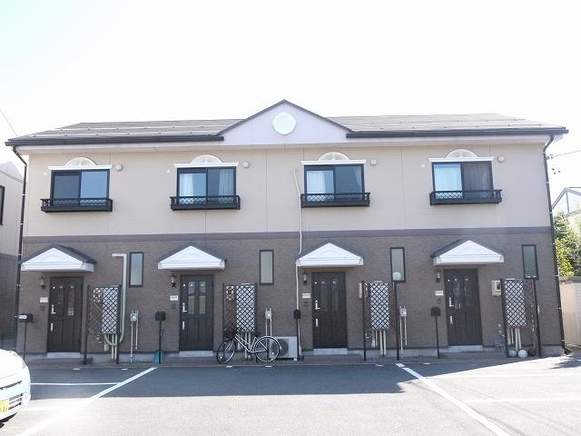 長野県塩尻市、塩尻駅徒歩8分の築15年 2階建の賃貸アパート