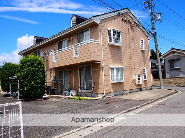 長野県松本市、平田駅徒歩35分の築28年 2階建の賃貸アパート