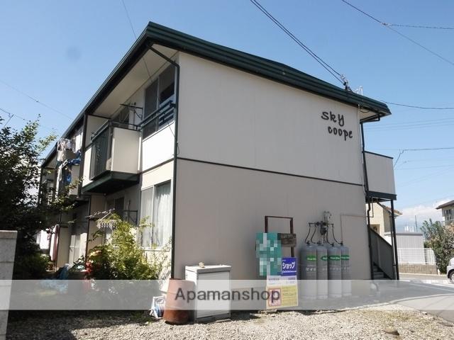 長野県塩尻市、塩尻駅徒歩15分の築34年 2階建の賃貸アパート