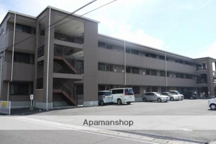 長野県松本市、南松本駅徒歩10分の築22年 3階建の賃貸アパート