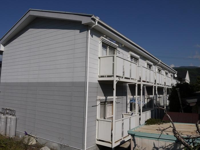 長野県松本市、南松本駅徒歩16分の築22年 2階建の賃貸アパート