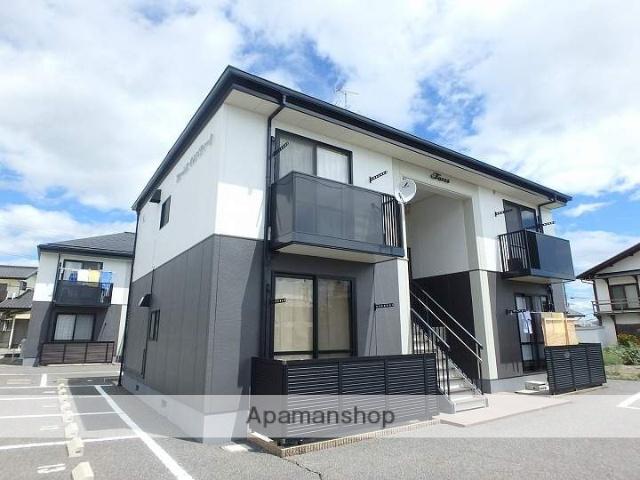 長野県松本市、下島駅徒歩26分の築17年 2階建の賃貸アパート