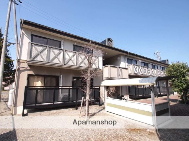 長野県塩尻市、塩尻駅徒歩19分の築23年 2階建の賃貸アパート