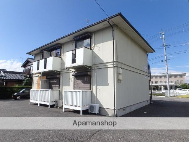 長野県松本市、南松本駅徒歩30分の築17年 2階建の賃貸アパート
