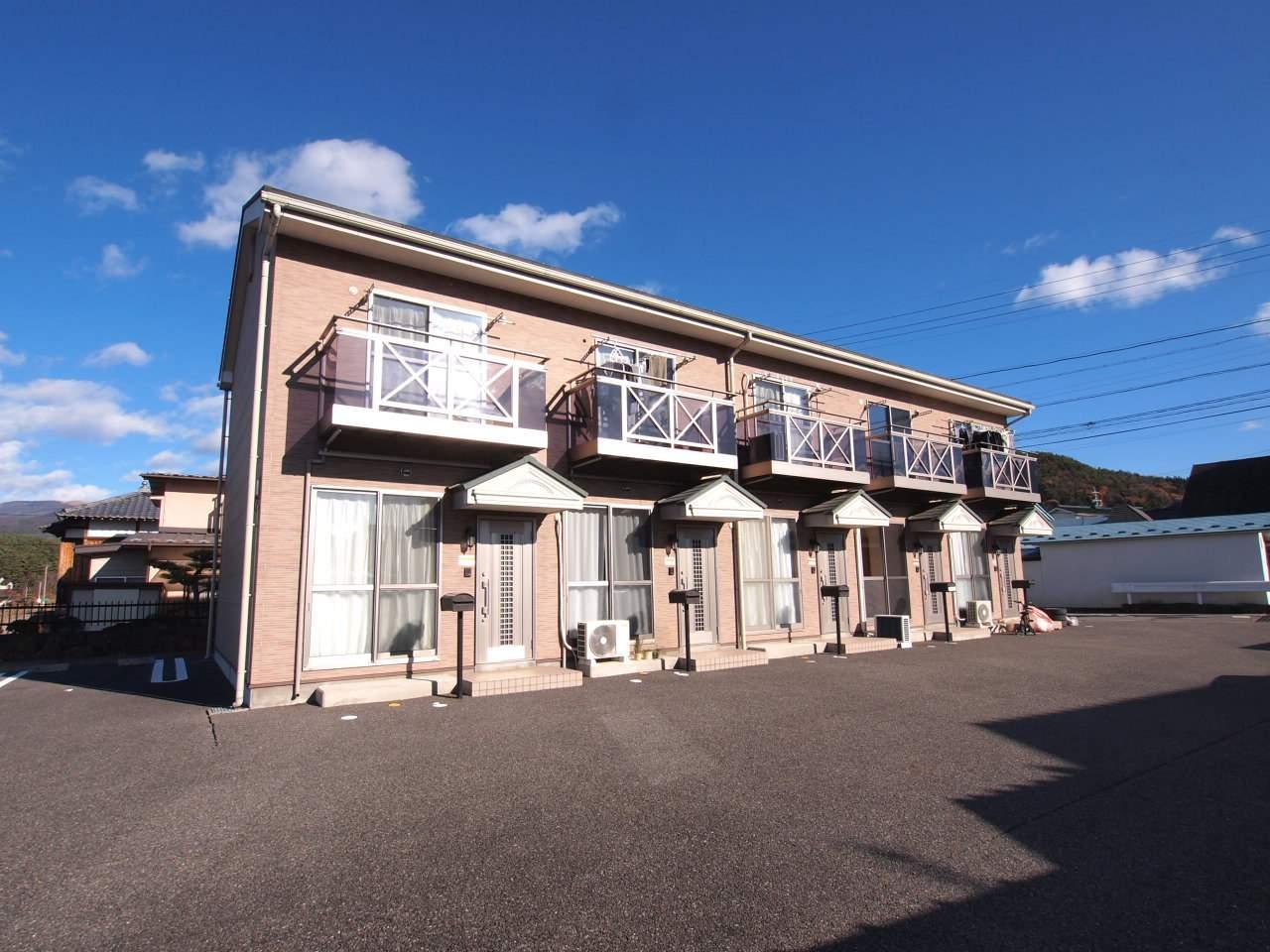 長野県塩尻市、みどり湖駅徒歩20分の築10年 2階建の賃貸アパート