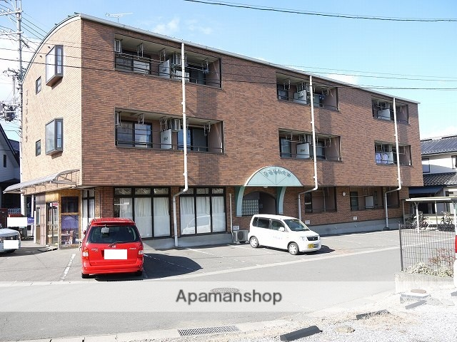 長野県塩尻市、塩尻駅徒歩3分の築17年 3階建の賃貸マンション