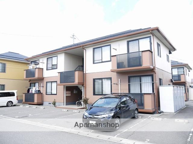 長野県松本市、平田駅徒歩57分の築17年 2階建の賃貸アパート
