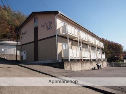 長野県松本市、南松本駅徒歩34分の築22年 2階建の賃貸アパート
