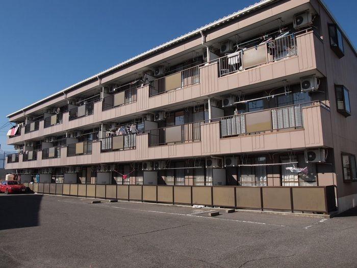 長野県松本市、南松本駅徒歩20分の築22年 3階建の賃貸アパート