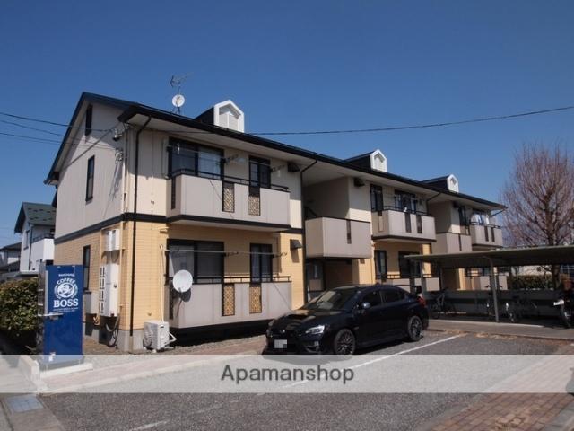 長野県塩尻市、広丘駅徒歩13分の築20年 2階建の賃貸アパート
