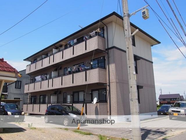 長野県松本市、村井駅徒歩13分の築22年 3階建の賃貸アパート