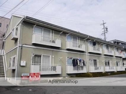 長野県松本市、松本駅徒歩22分の築25年 2階建の賃貸アパート