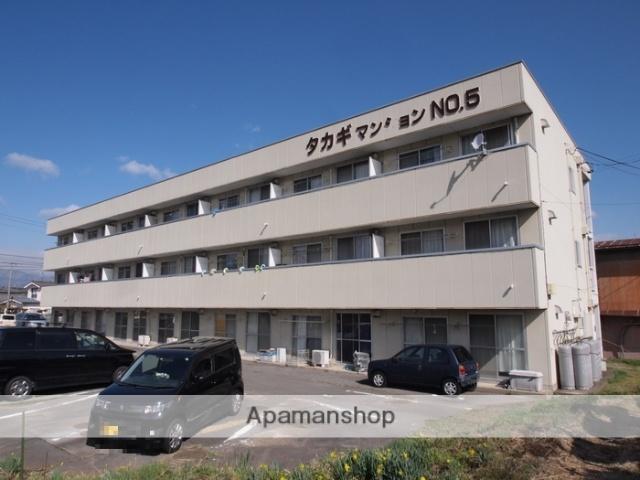 長野県塩尻市、広丘駅徒歩12分の築25年 3階建の賃貸マンション